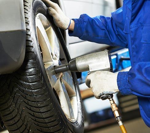 changement de pneus Guichainville